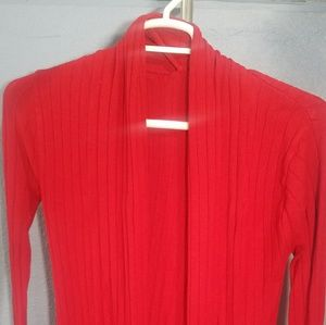 Red Long Sweater